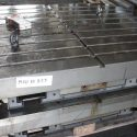 1030 x 1250 mm Platen T slot table
