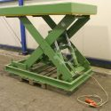 Bartscher 1165 2070 H385 mm Scissors lifting table 5000 kg