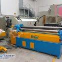 FAMAR QAI 20 2 USED 4 ROLLS HYDRAULIC CNC PLATE BENDING MACHINE