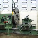 HEYLIGENSTEDT 3PBV Plan lathe with bed head lathe