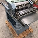 Max Simmel Abziehpresse Typ Hannover letterpress proof printing press