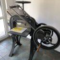 O Ronniger Leipzig manuelle Papierschneidemaschine cultural asset manually operated cutter