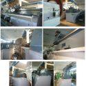 WMW Zerbst DP 4000 DP 5000 heavy duty facing lathe with floor plate