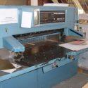 Wohlenberg 115 MCS 2 TV high speed cutter
