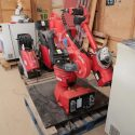 COMAU BIG REDUCTION S2 Robot Control unit Teach pendant Desk