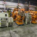 ABB IRB 6400 R M99 2 8 150 Robotic