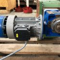 autorotor Rossi Typ T35 08 300 Rossi Motoriduttoni Typ Rotary table with gear motor