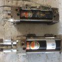 Hoerbiger Kolben Durchmesser 50 mm 2 Kolbenstange Pneumatic cylinder