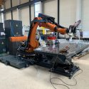 Kuk KR 120 R2700 6 Axis miling robot
